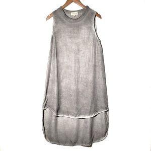 cloth & stone    High Low Tencel Dress